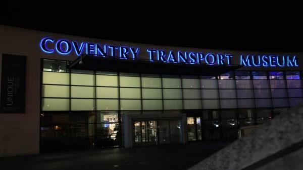 Coventry Transport Museum - Gala Dinner